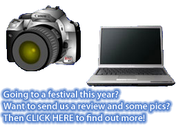 Write a review and take photos at festivals