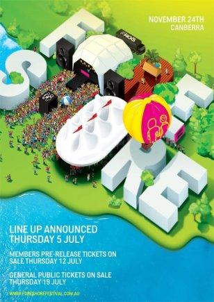 Foreshore Festival Poster 2012