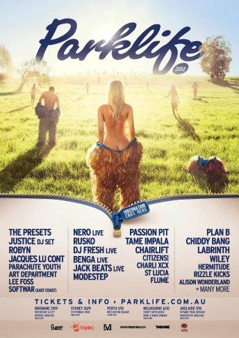 Parklife Festival Poster 2012