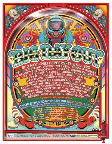 Big Day Out 2013 Poster