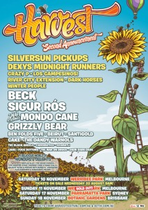 Harvest Festival 2012 2nd announcement poster