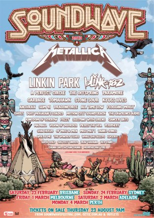 Soundwave Poster 2013